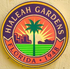 Hialeah Gardens City Logo